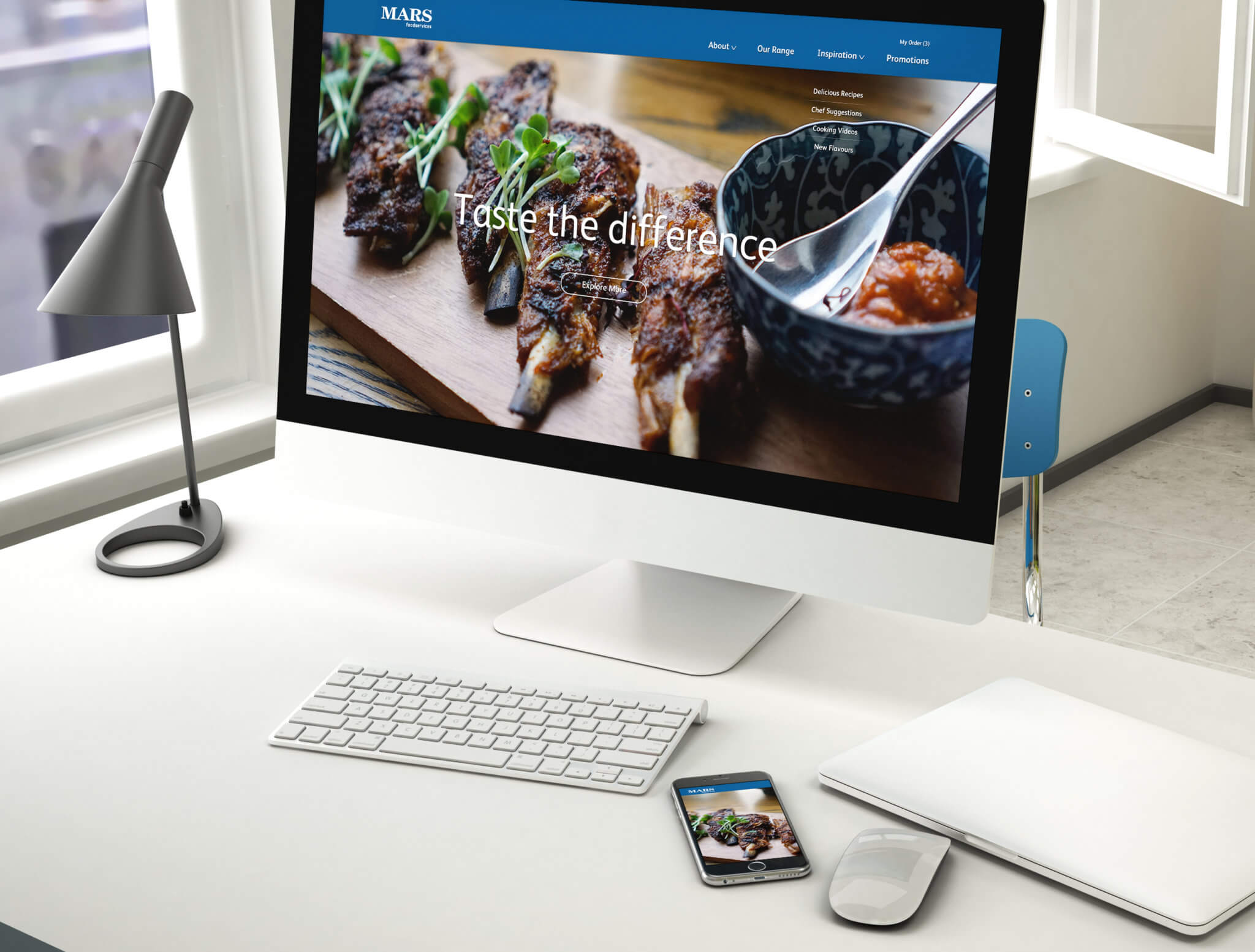 Mars Foodservices_Website Design_ Landing Page Mock Up